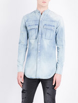 Balmain Bleached regular-fit denim shirt