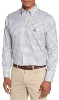 Peter Millar 'University of Georgia' Regular Fit Twill Tattersall Sport Shirt