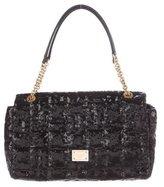 Dolce & Gabbana Quilted Sequin Shoulder Bag