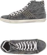 Leather Crown High-tops & sneakers - Item 44812887