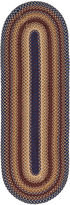 Asstd National Brand Canyon Reversible Braided Indoor/Outdoor Oval Runner Rug
