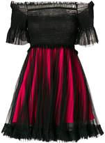 Pinko tulle layer mini dress