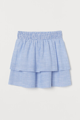 H&M Tiered Cotton Skirt