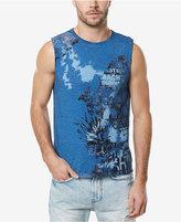 Buffalo David Bitton Tawet Graphic-Print Cotton T-Shirt
