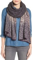 Nordstrom Women's Ombre Scroll Wrap