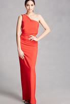 Forever 21 FOREVER 21+ One-Shoulder Maxi Dress