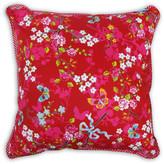 Pip Studio Chinese Rose Cushion -  Red - 45cm x 45cm
