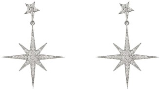 Petite Star Latelita Burst Drop Earring Silver