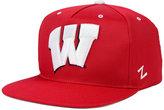 Zephyr Wisconsin Badgers Gridiron Snapback Cap
