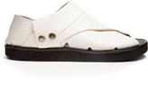 Joseph Collapsible-heel leather flat sandals