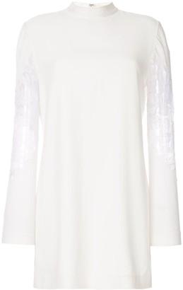 Dion Lee lace insert dress