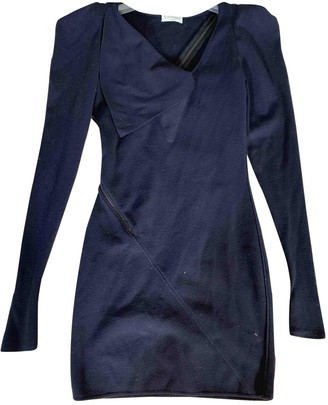 Vionnet Blue Wool Dress for Women