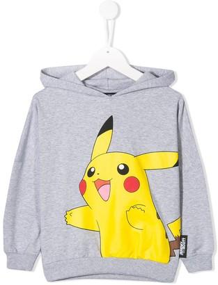 Jeremy Scott Junior Pikachu print hoodie