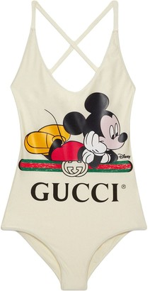 Gucci x Disney Mickey print swimsuit