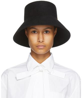 Valentino Black Garavani VLogo Bucket Hat