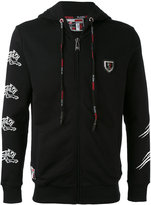 Plein Sport - tiger and logo print jacket - men - Cotton - M