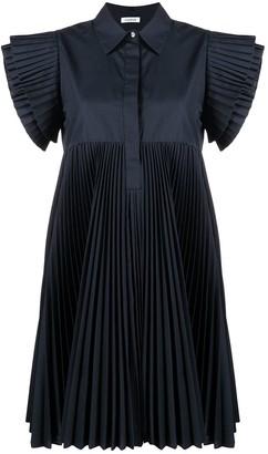 P.A.R.O.S.H. Pleated-Sleeve Dress