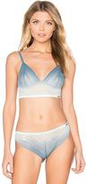 Calvin Klein Underwear Ombre Triangle Bra in Blue