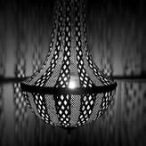 1 - Light Unique / Statement Geometric Pendant Cyan Design