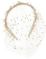 Gigi Burris Millinery Gemini Violette Headband with Veil
