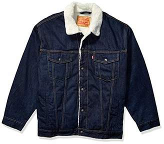 Levi's Men's Big & Tall Sherpa Trucker Jacket-Big