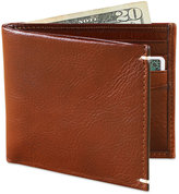 Tasso Elba Invecchiato Italian Leather Slim Billfold Wallet