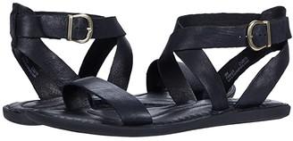 Børn Oak (Black Full Grain Leather) Women's Sandals