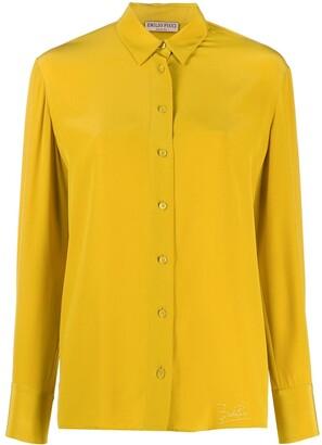 Emilio Pucci Regular Fit Silk Shirt