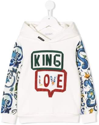 Dolce & Gabbana King Love hoodie