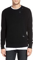 Zanerobe Men's Shredded Waffle Knit Sweater