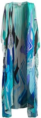 Camilla Printed Silk Cover-Up