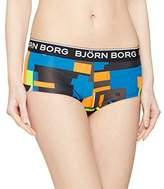 Bjorn Borg Women's 1p Minishorts BB Multi Collage Full Slip,8 (Manufacturer Size:)