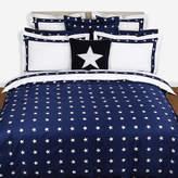 Gant Star Border Duvet Cover - Navy - King