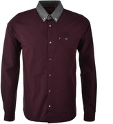 Luke 1977 The Chop Shirt Burgundy