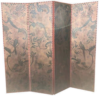 One Kings Lane Vintage Maitland Smith Tall Divider/Screen - nihil novi