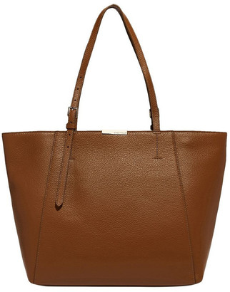 Coccinelle Cher Double Handle Brown Tote Bag