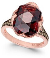 Thumbnail for your product : LeVian Chocolatier Pomegranate Garnet (6-9/10 ct. t.w.) and Diamond (3/8 ct. t.w.) Ring in 14k Rose Gold (Also Available In London Blue Topaz)