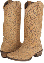 Roper Leopard Print Snip Toe Boot