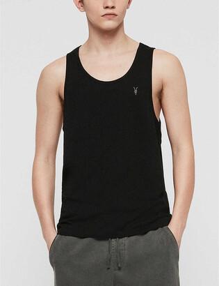 AllSaints Tonic cotton-jersey vest top