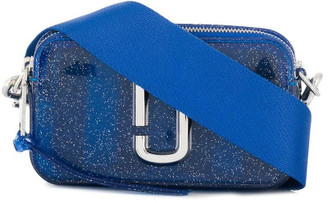 Marc Jacobs The Jelly Glitter Snapshot Leather Bag
