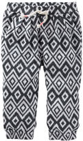 Osh Kosh Pull-On Ikat Print Pants