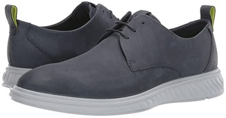 Ecco ST.1 Hybrid Lite Plain Toe (Marine) Men's Shoes