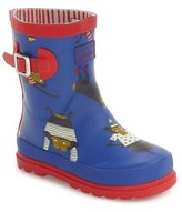 Joules Toddler Boy's 'Baby Welly' Waterproof Monkey Boot