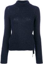 Dondup roll neck jumper - women - Polyamide/Alpaca/Merino - XS
