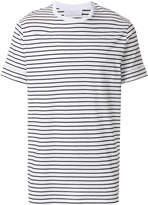 Neil Barrett striped fitted T-shirt