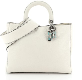 Christian Dior Lady Bag Canyon Grained Lambskin with Mosaic Detail Large