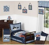 Sweet Jojo Designs Ocean Blue Toddler Bedding Collection