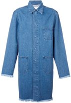 Marques Almeida Marques'almeida denim mid coat