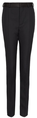 Haider Ackermann Side-stripe Wool Slim-leg Trousers - Black Multi