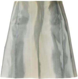 Giorgio Armani Pre Owned Fitted Mini Skirt
